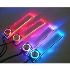LED Car Interior Decorative Floor Light Lamp Auto Cigarette Lighter Colors Light