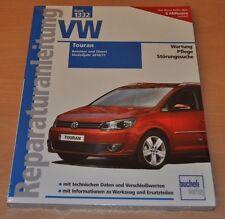 VW TOURAN 1,2 1,4 1,6 2,0 TDI TSITGI Motor Getriebe PKW Reparaturanleitung B1332