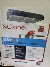 "New listing Nutone Osmos Ahda130Bl 30"" Under Cabinet Wall Mount Kitchen Range Hood Black"