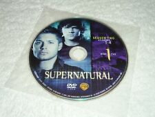 Supernatural REPLACEMENT DISC 1 - single DVD only Season 2, 2nd second Season