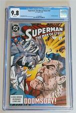 Superman: The Man of Steel #19 High Grade Key CGC 9.8 NM/MT DOOMSDAY! DC COMICS!