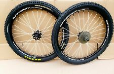"""SPINERGY XYCLONE 26"""" Wheels 20mm QR Wheelset -  Maxxis DH Tyres Mountain XC Bike"""
