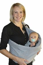 Cangurera De Tela Para Bebé Fular Elástico Suave Cómodo Práctico Ergonómico