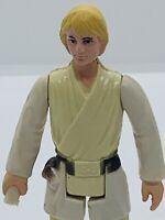 Vintage 1977 Kenner Star Wars Figure ANH Luke Skywalker Farmboy No Weapon