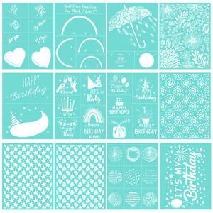 Various Patterns Silk Screen Printing Stencil Transfer Mesh Cloth Bag DIY Crafts