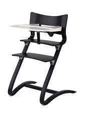 Leander Hochstuhl Aktion in schwarz incl.Sicherheitsbügel Tablett und Sitzkissen