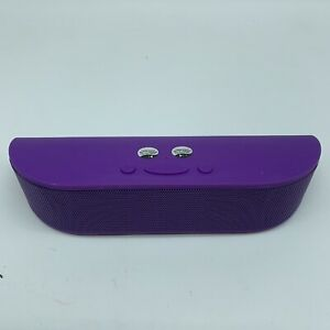 Aduro Bee-Bop Purple Wireless Speaker Bluetooth Portable Hands Free BB-BT