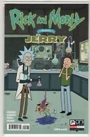 Rick and Morty Presents Jerry Issue #1 Variant Cvr ONI Press (1st Print 2019) NM