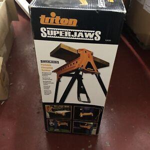 Triton ,SuperJaws Portable Clamping System SJA200,Workshop,DIY, power tool,