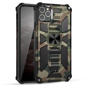 Camouflage Armor Shockproof Slim Case Cover for iPhone 11 12 Pro Max