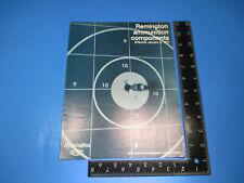 Vintage 1971 Remington Ammunition Component Brochure Kleanbor Power Piston M6601
