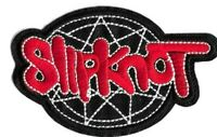 Slipknot - Logo Patch Embroidered Iron or Sew On - Classic Rock Nu Heavy Metal