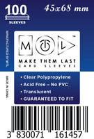 MTL Card Sleeves MEU: Size 45x68 100 PCS Five Tribes, St. Petersburg,...