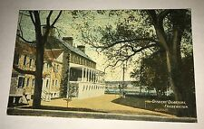 Officers' Quarters FREDERICTON New Brunswick CANADA 1918 Postcard