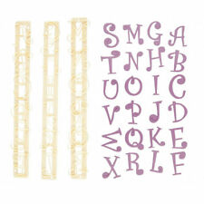 FMM Cutter Funky Alphabet & Number Set Icing Tool Fun Cake Decoration Party
