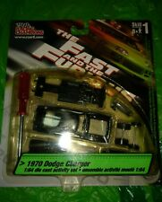 1970 '70 DODGE CHARGER ACTIVITY SET THE FAST AND THE FURIOUS DIECAST RARE