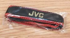 Replacement Genuine JVC Black & Red Nylon Strap For Camcorder / Camera **NOS**