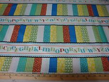 Red Rooster Fabrics 100 % Cotton  Patchwork Pals  23121 Mul1  by the yd