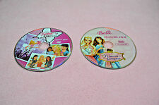 LOT of 2 DVDs The BARBIE Diaries and The PRINCESS AND THE PAUPER Like NEW MINT