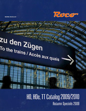 ROCO MODEL TRAIN CATALOG 2009-2010    NOS   TMS-1091