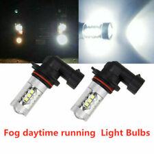 For Ford F150 F250 F350 Super Duty 100w 6000k White Led Fog Lights Bulbs 2pcs