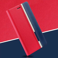 Red Luxury PU Leather Wallet Flip Cover Case For Samsung S4 S5 J5 2015 S7 S6