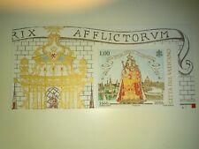 Vaticano 2016 - 350° Maria Consolatrice Patrona Lussemburgo al facciale!!!!!