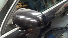 AUDI A4 B7 FRONT LEFT PASSENGER SIDE WING MIRROR IN BLACK LZ9Y