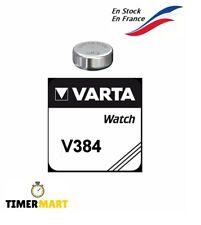 Piles Bouton V384 pour montre Varta tous modèles batterie pile 1.55V V384