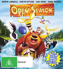 OPEN SEASON DVD Region 4 Martin Lawrence/Ashton Kutcher+Special Features-NEW