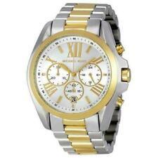 Michael Kors MK5627 Bradshaw Chronograph Silver and Gold Tone Ladies Wrist Watch