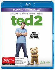 Ted 2  (Blu-ray/UV) * Blu-ray NEW * Mark Wahlberg Amanda Seyfried