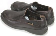 Mephisto Air Jet Men's $240 Loafers Shoes Size 8 Brown Pebbled Leather