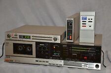 Aiwa 3800 Cassette Deck w/Aiwa Wireless Remote, Timer