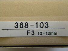 Mitutoyo tres punto-interior-Fein medidor de, 368-103, rango de medición 10 - 12 mm