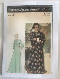 Butterick 3935 - UNCUT Full Length Caftan Sewing Pattern - 12