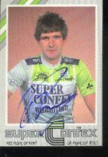 CEES PRIEM cyclisme wielrennen Signed Superconfex Nederland Champion wielersport