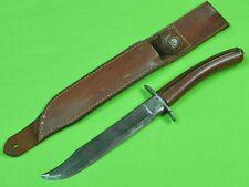 US WW2 WWII KNIFE CRAFTERS Fighting Knife Civil War Sword Blade w/ Sheath