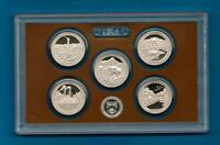 In Stock -2011 S PROOF Parks Quarter Set 5 coins-NO BOX