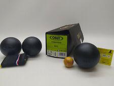 3 Boules de Pétanque OBUT RCC Carbone Compétition 73mm 680g Stries 0 - NEUVES