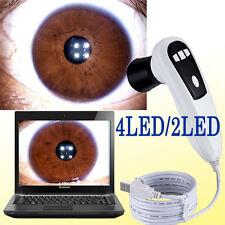 5.0 MP  4 LED/2 LED USB Eye Iriscope Iridology Camera w/PRO Software CE/FCC