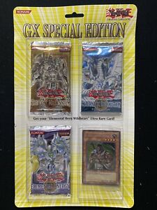 Yugioh GX Special Edition Blister Booster Pack Factory Sealed