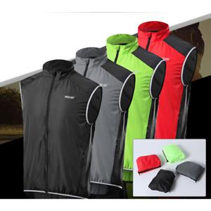Cycling Vest Windproof ReflectiveDownhill Sleeveless Jacket Bicycle Jersey MTB