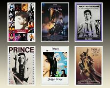 More details for prince poster prints music wall art tour poster movie print. a3, a4, a5