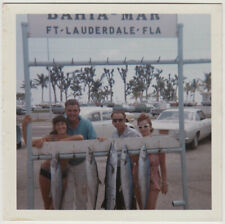 Original Vintage 1960s SNAPSHOT great catch in Ft. Lauderdale