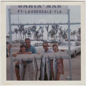 Original Vintage 1960s SNAPSHOT great catch in Ft. Lauderdale
