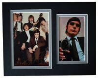 Charlie Watts Signed Autograph 10x8 photo mount display Rolling Stones Music COA