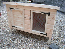 Rabbit Guinea Pig hutch Shiplap 4ft L Wooden animal housing