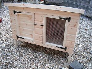 Rabbit Guinea Pig hutch Shiplap 4ft L Wooden animal housing