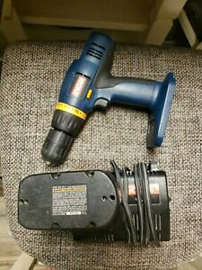 """RYOBI P206 18V CORDLESS 1/2"""" DRILL - One Battery & Charge Plus Charger. Tested"""